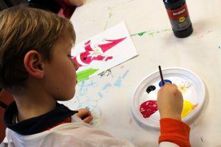 Atelier tableaux de Noel Pornichet le 22 décembre 15h