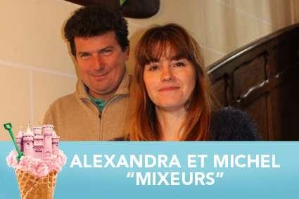 Alexandra et Michel : Mixeurs à Pornichet