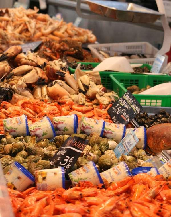 The market of Pornichet