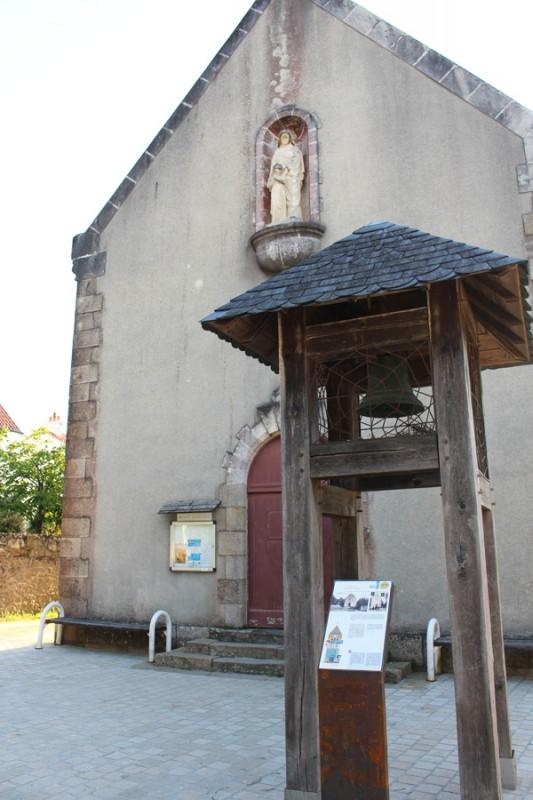 Panneau Chapelle Sainte-Anne