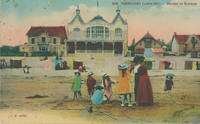History and Heritage - Old postcard of Pornichet