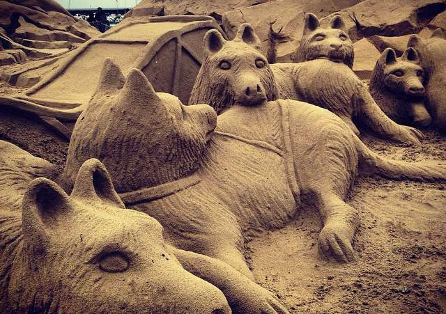 Sculptures sur sable - Pornichet
