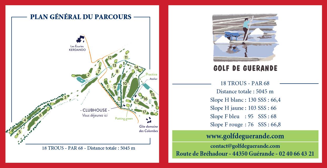 Golf de Guérande - Dépliant recto