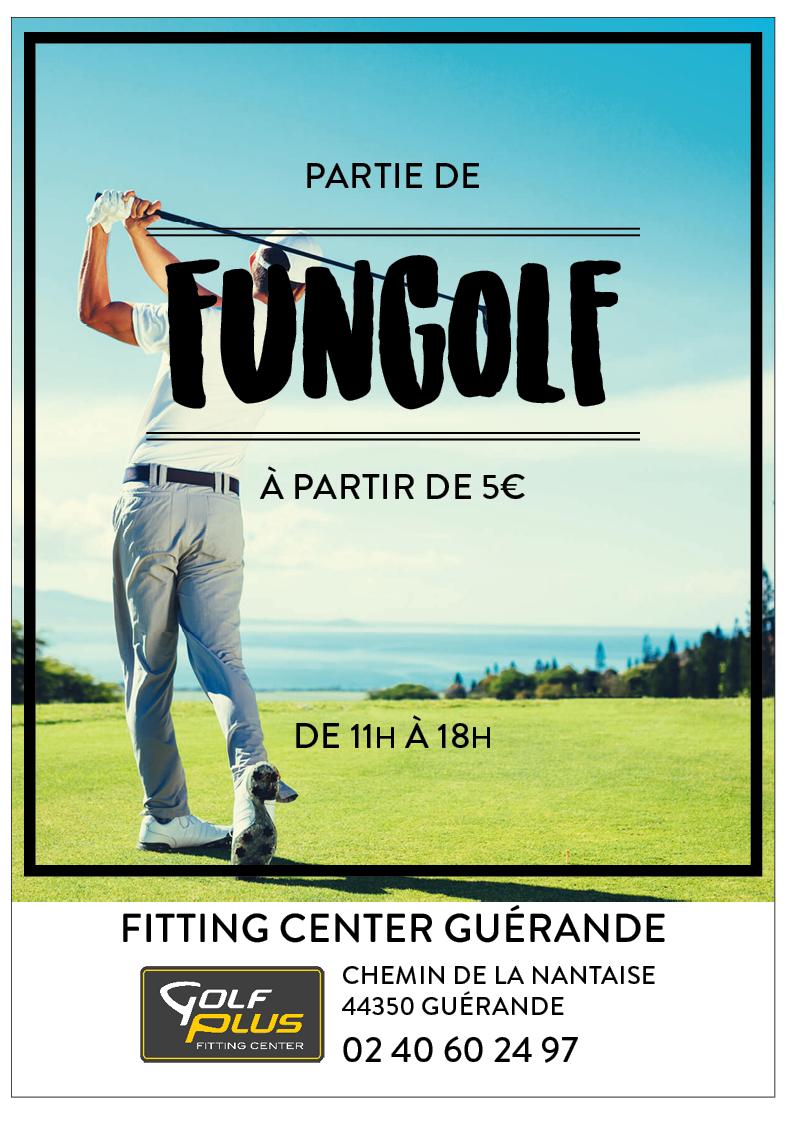 Golf de Guérande - Invitation Fungolf