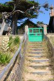sentier du littoral Pornichet balade rando patrimoie architecture v�g�tal dunes
