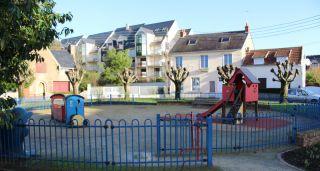 aire de jeux pour enfants square Chanzy à Pornichet