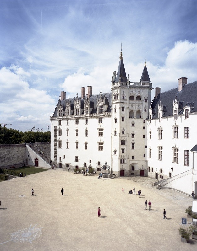 01 - Château des Ducs de Bretagne de Nantes par Patrick Messina-lvan