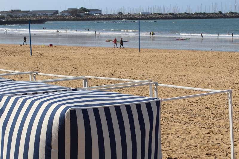 Pornichet la plage des Libraires