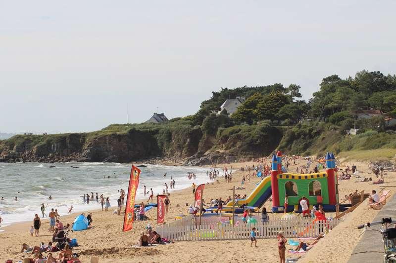 Pornichet plage de Sainte-Marguerite