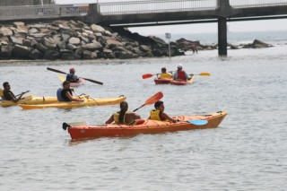 100% Athletik Kayak de mer